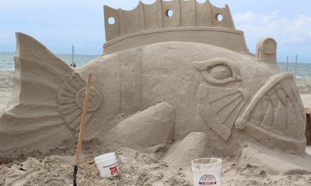 Texas Sandfest in Port Aransas, Texas