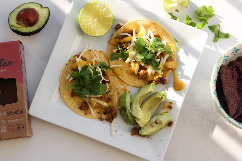 vegetarian street tacos