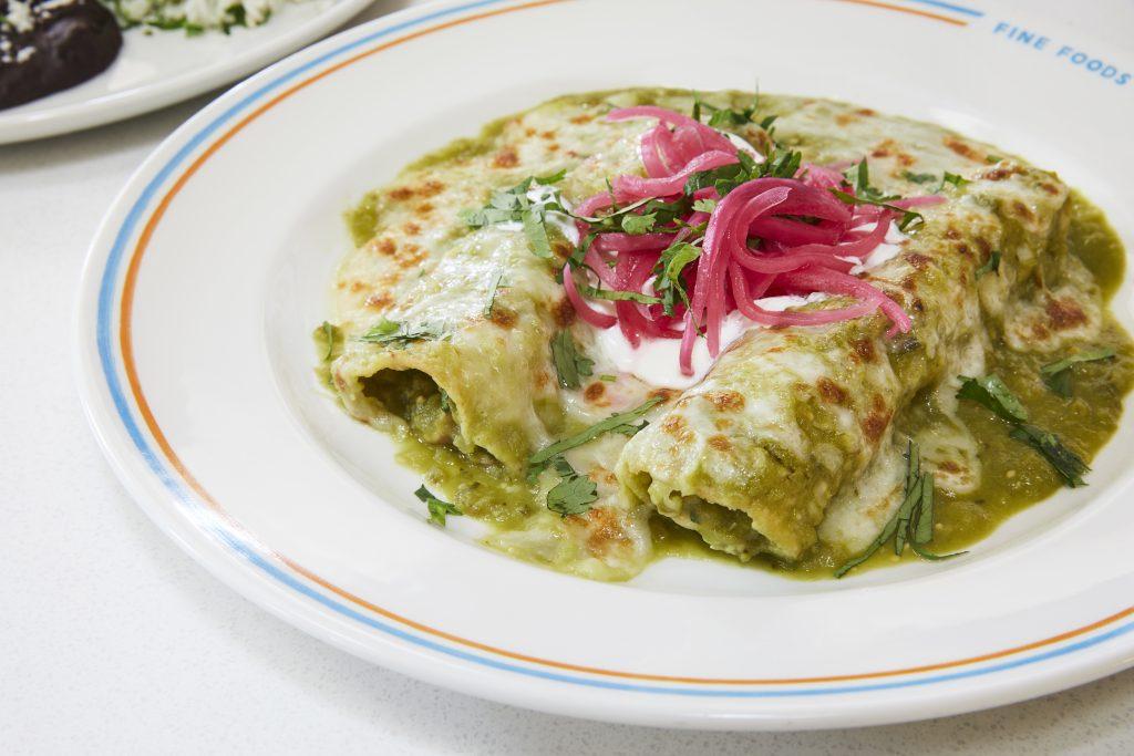 image of chicken enchiladas