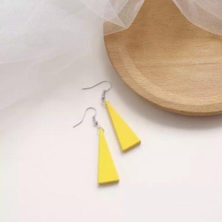 Retro Wood Tassle Earrings